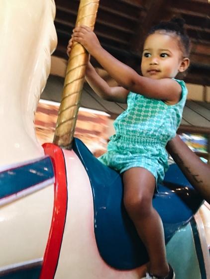 Joona's first ride